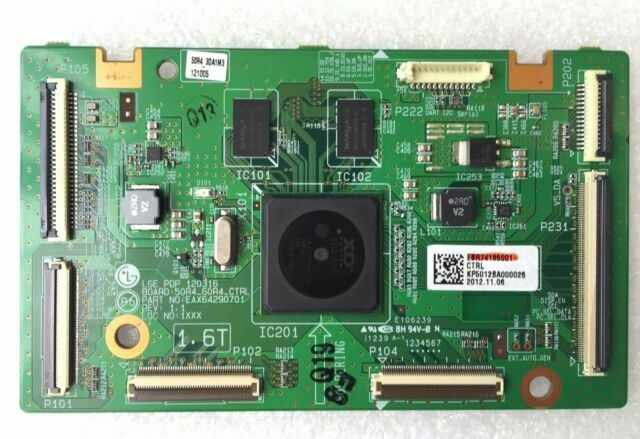 LG 50PA5500 CONTROL BOARD EAX64290701 EBR74185001