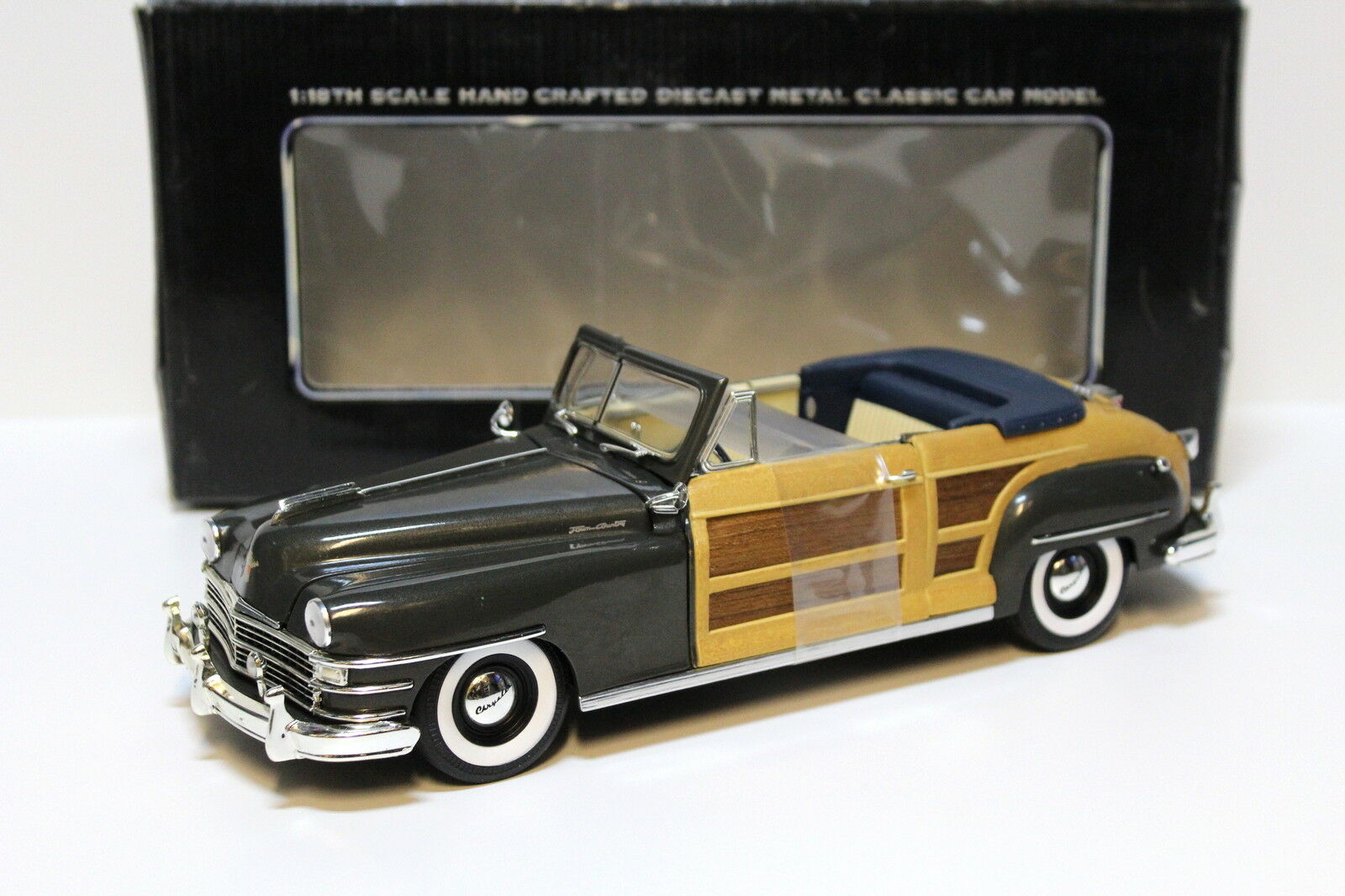 1 18 Motor City Classics CHRYSLER TOWN & COUNTRY GREEN NEW in Premium-modelcars