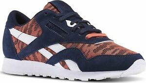 Reebok-Classic-CL-Nylon-Sail-Away-Sizes-3-5-8-5-Navy-RRP-70-BNIB-BD3376