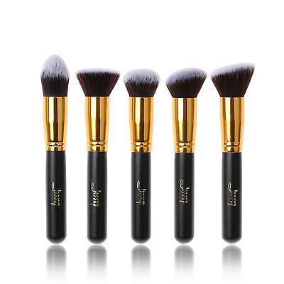 Jessup Brand 5pcs Beauty Kabuki Makeup Brushes Set Cosmetic Tool Kit Foundation