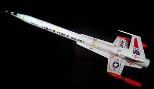 Accur8-White-034-Chameleon-Skin-034-Kit-For-Estes-Interceptor-E-Model-Rocket