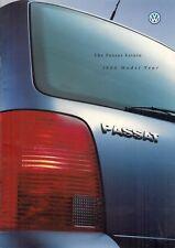 VOLKSWAGEN Passat Estate 1998-99 UK Opuscolo Vendite sul mercato S SE Sport vr5 v6