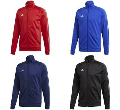 adidas Core18 Mens Football Hoody Blue