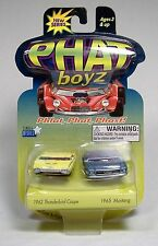 PHAT BOYZ DIE-CAST 1962 THUNDERBIRD COUPE & 1965 MUSTANG STANG MOSC 2003 RARE