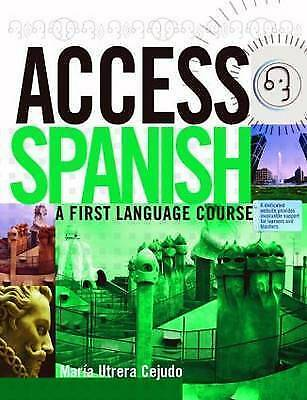 1 of 1 - Access Spanish: A First Language Course: Student Book by Maria Utrera Cejudo, Pa