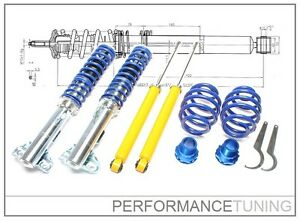 Combines-Filetes-Amortisseurs-Reglables-BMW-Serie-3-E36-Tuning