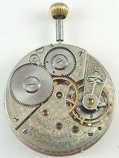 Waltham Riverside Pocket Watch Movement - Spare Parts / Repair