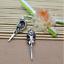 3//9pcs Fashion personality Skeleton eagle head flowers alloy charm pendant