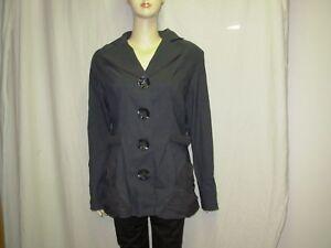 Image is loading Jean-marc-philippe-women-gray-jacket-size-2- fd7517b7f5c