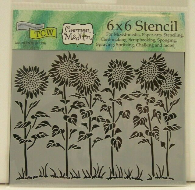 CRAFTERS WORKSHOP TCW6X6-357 Template 6 by 6-Inch Cell Theory