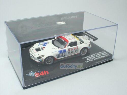 Minichamps Mercedes-Benz SLS Amg Gt3 24h Adac Nurburgring Mamerow / rowe 437110330