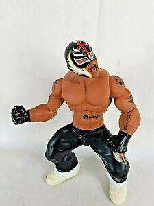 2005-Jakks-WWF-WWE-Rey-Mysterio-14-Inch-Ring-Giant-Wrestling-figure-WCW-NWO