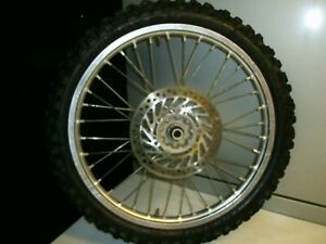 HONDA-CRF-250X-FRONT-WHEEL-2005-MAY-FIT-OTHER-YEARS-ENDURO