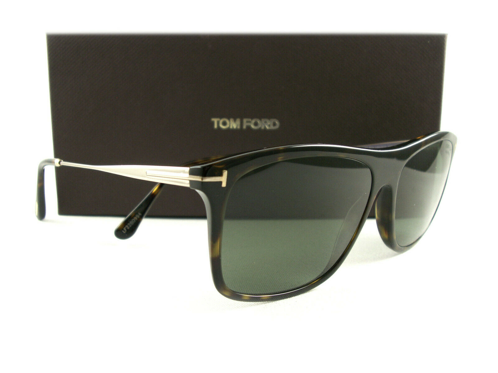 Authentic Tom Ford FT0595 Eric-02 52D Dark Havana Sunglasses
