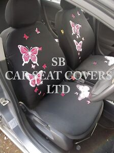 TO-FIT-A-RENAULT-MODUS-CAR-SEAT-COVERS-ROSSINI-PINK-BUTTERFLY-MAT-SET