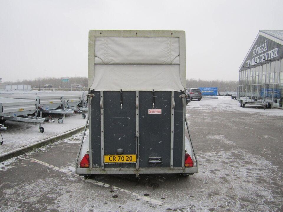Trailer Schmidt 2 pony/islænder, lastevne (kg): Schmidt 2