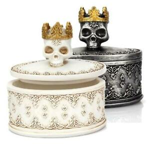 Gothic-Retro-Mini-Storage-Box-Skull-Crown-Jewelry-Organizer-Desktop-Decor
