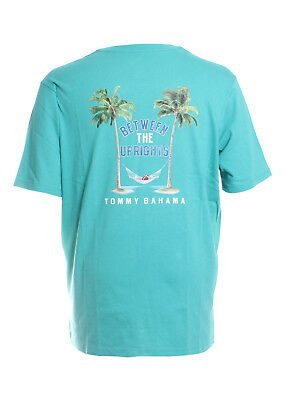 Tommy Bahama Between the Uprights Tee in Gulf Shore