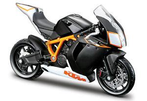 KTM-1190-RC8-R-Bburago-Motorrad-Modell-1-18