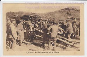 RUMANIEN-SIEBENBURGEN-MILITAR-DEUTSCHE-MORSERSTELLUNG-ca1915