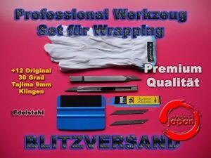 Car Wrapping, 3M Rakel, 30° Grad Cuttermesser Made in Japan mit12 Tajima Klingen - Deutschland - Car Wrapping, 3M Rakel, 30° Grad Cuttermesser Made in Japan mit12 Tajima Klingen - Deutschland