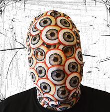3D Effekt verrückt Äugig Monster Gesicht Skin Lycra Stoff Gesichtsmaske