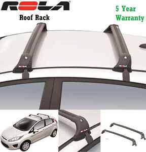 Rola Custom Fit Aluminum 110lb Roof Rack 11 15 Ford Fiesta