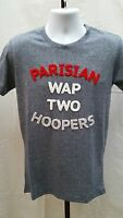 Wap Two Tony Parker Spurs French A Franchise Gray T Shirt Size M A127