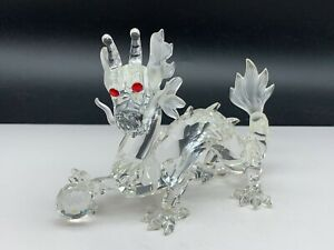 Swarovski-Figurine-208398-Dragon-14-Cm-Etat-Irreprochable