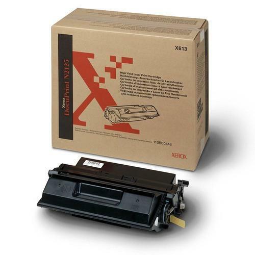 Fuji Xerox Genuine 113R00446 Black Toner For DocuPrint N2125 - 15,000 Pages