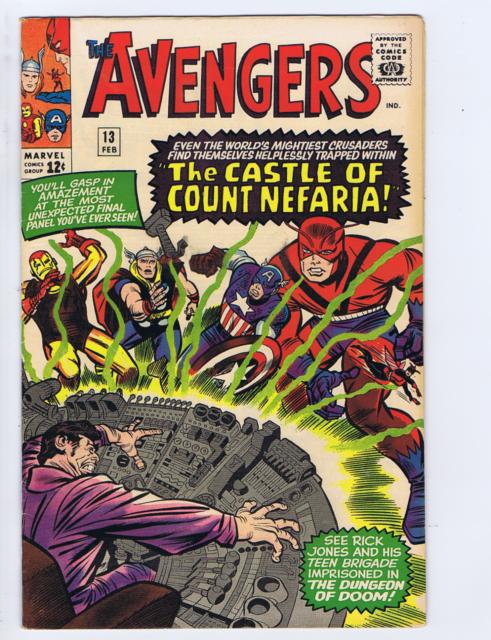 Avengers #13 Marvel 1965