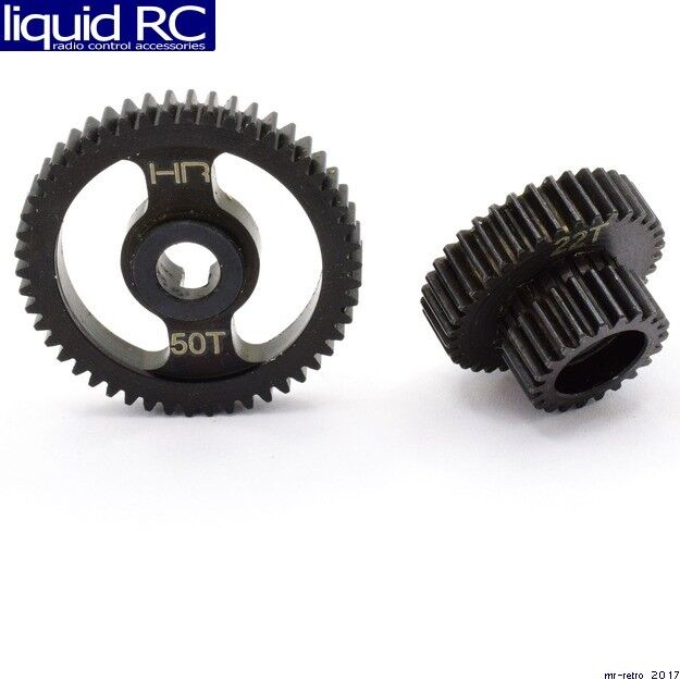 Hot Racing SNCR1000T Steel Center Transmission Gear Set - Losi Night Crawler