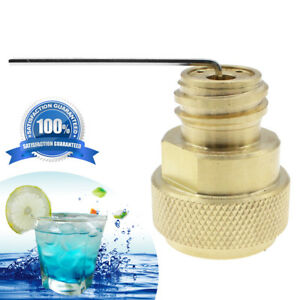 Details about Useful CO2 Adapter Replace Tank Paintball Canister Conversion  for Sodastream US
