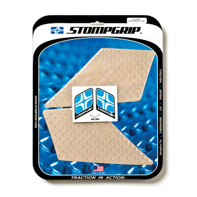 Stompgrip BMW F800GT 13-17 Volcano Clear Tank Traction Pad Grip
