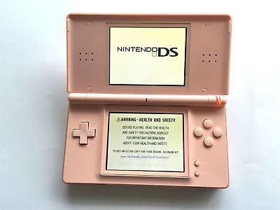 Nintendo DS Lite Original Consola de Juegos Sistema Portátil Rosa +  Cargador | eBay