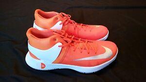47ebd2fcc09a Nike KD Trey 5 IV Orange   White Basketball Shoes Kevin Durant Size ...