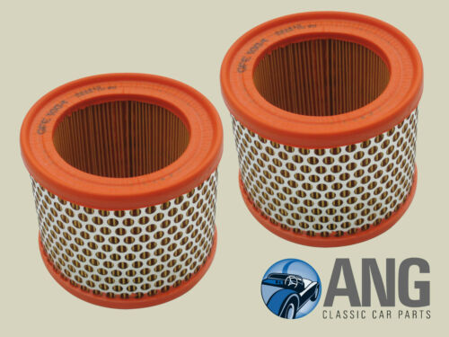 MG MIDGET AUSTIN HEALEY SPRITE 1961-1974 AIR FILTERS x 2 GFE1004