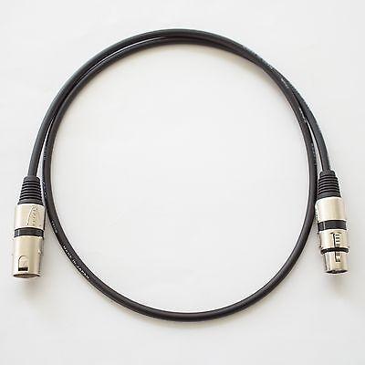 Canare L-4E6S Balanced XLR Audio Interconnect Cable 0.8m White