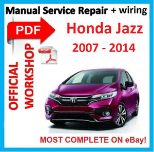 Official workshop manual service repair for honda jazz 2007 2014 image is loading official workshop manual service repair for honda jazz asfbconference2016 Image collections
