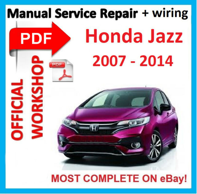 Honda Fit Manual Pdf