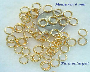 100-Stunning-Fancy-Gold-Jump-Ring-Beads-6MM