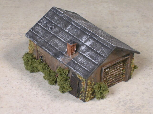 N Scale M of W Maintenence Tool Shed, version #7