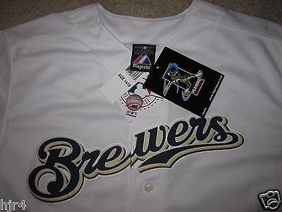 Fanartikel Sparsam Milwaukee Brewers #28 Majestätisch Trikot Jugendliche L 14-16 Neu AusgewäHltes Material Baseball & Softball
