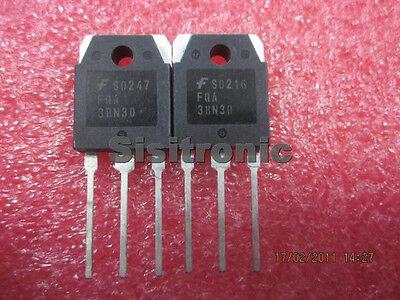 4 pc FDA38N30 Power MOSFET 300V 38A Fast DMOS FET 0.065 Ohm