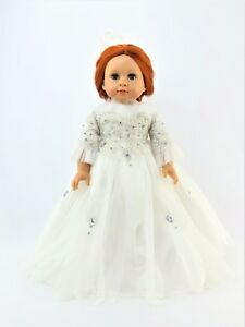 White-feather-Ball-Gown-Fits-18-034-American-Girl-Doll-Clothes
