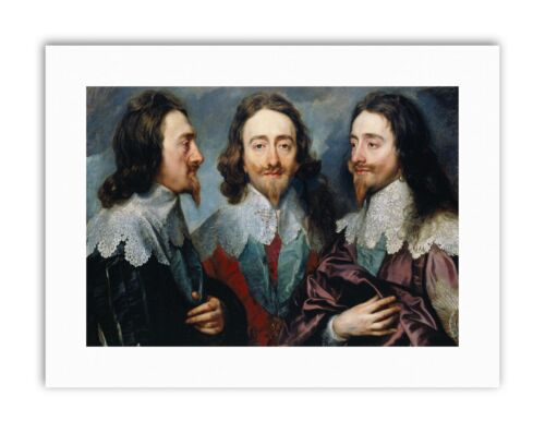 VAN DYCK KING CHARLES I OF ENGLAND Painting Portrait Canvas art Prints