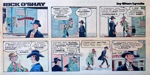 Rick-O-039-Shay-by-Stan-Lynde-full-color-Sunday-comic-page-March-21-1976