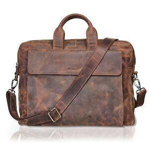 33c9fd694c666 Das Bild wird geladen Packenger-Messenger-Bag-ODIN-Ledertasche-Laptoptasche -in-Vintage-