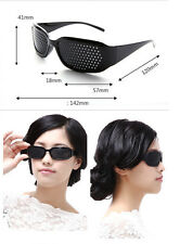 Improve Vision Pin hole Eyeglasses Pinhole Glass Eye Exercise Sunglass  Eye Yoga