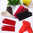 Charming Lady Girls Bridal Evening Party Prom Opera Sunscreen Short Satin Gloves